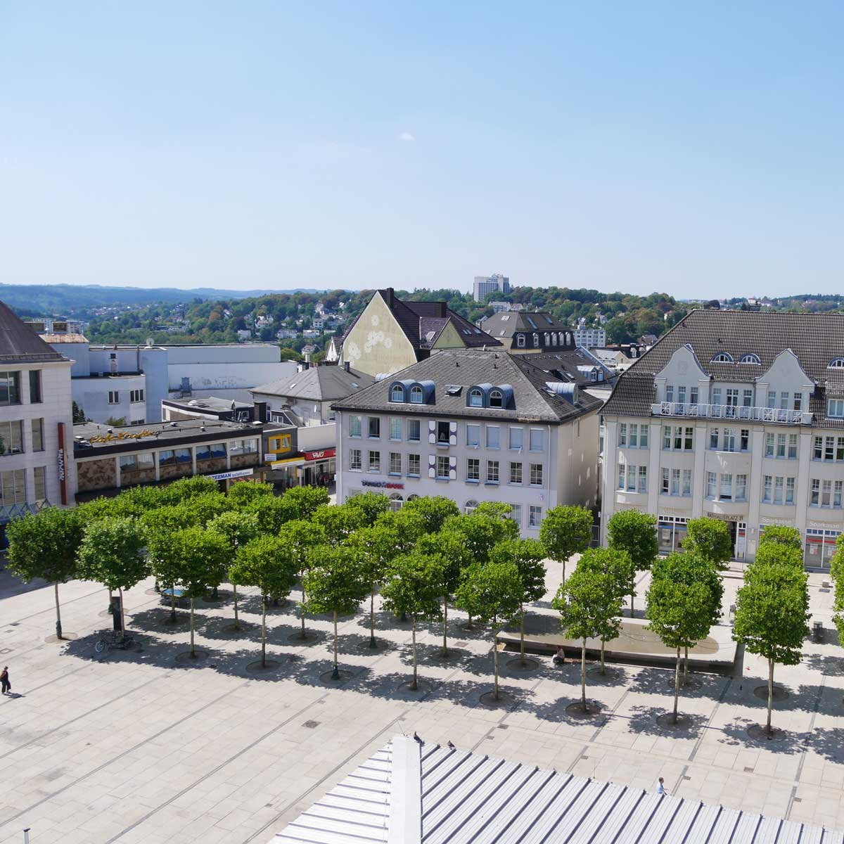 Rathausplatz in Lüdenscheid
